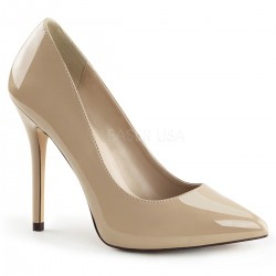 Amuse Cream 5 Inch High Heel Pump ShoeOodles Shoes for Women, Men and Children  Oodles of Shoes for Men, Women & Children