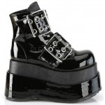 Bear Black Platform Ankle Boots at ShoeOodles Shoes for Women, Men and Children,  Oodles of Shoes for Men, Women & Children