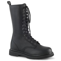 Bolt Mens Combat Mid-Calf 14-Eyelet Boot