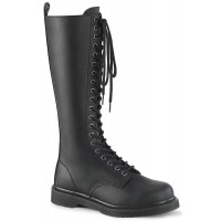 Bolt Mens Knee High Combat Boots