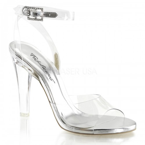 Clearly Beautiful Ankle Strap Sandal at ShoeOodles Shoes for Women, Men and Children,  Oodles of Shoes for Men, Women & Children