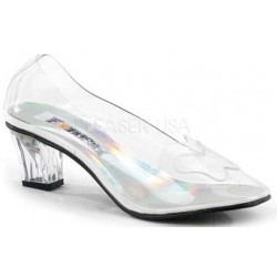 Crystal Clear Butterfly Cinderella Pump ShoeOodles Shoes for Women, Men and Children  Oodles of Shoes for Men, Women & Children