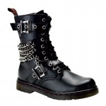 Defiant 204 Chained Ankle Boot at ShoeOodles,  Oodles of Shoes for Men, Women & Children