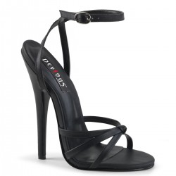 Black Domina High Heel Sandal ShoeOodles Shoes for Women, Men and Children  Oodles of Shoes for Men, Women & Children
