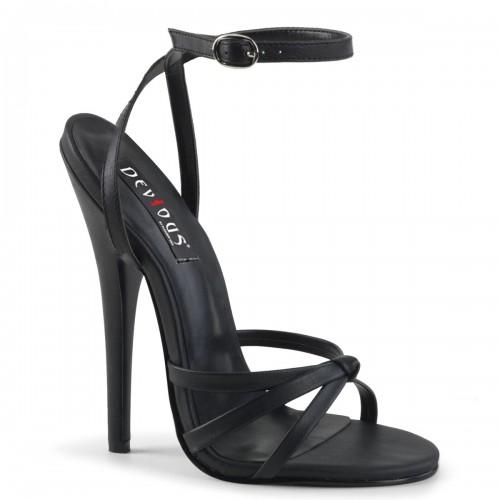 Black Domina High Heel Sandal at ShoeOodles Shoes for Women, Men and Children,  Oodles of Shoes for Men, Women & Children