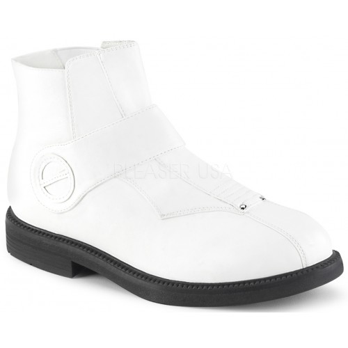 Clone White Stormtrooper Ankle Boots at ShoeOodles Shoes for Women, Men and Children,  Oodles of Shoes for Men, Women & Children