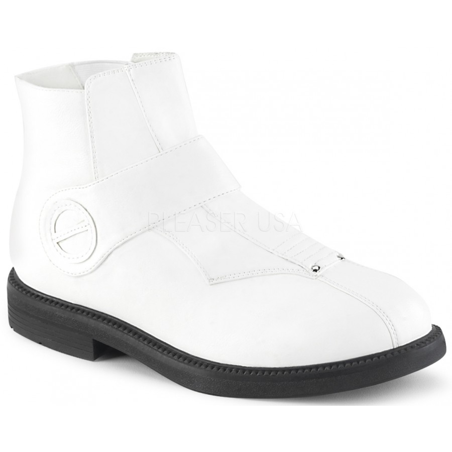 781b9775913918 Clone White Stormtrooper Ankle Boots at ShoeOodles Shoes for Women, Men and  Children, Oodles