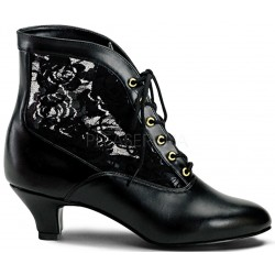 Victorian Dame Black Ankle Boot ShoeOodles Shoes for Women, Men and Children  Oodles of Shoes for Men, Women & Children