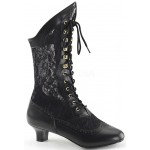 Victorian Dame Black Lace Boot at ShoeOodles Shoes for Women, Men and Children,  Oodles of Shoes for Men, Women & Children