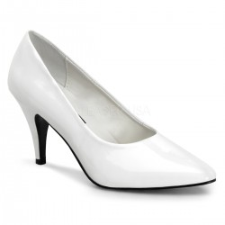 White Classic Pump 420 with 3 Inch Heel ShoeOodles Shoes for Women, Men and Children  Oodles of Shoes for Men, Women & Children