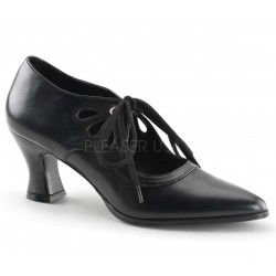 Victorian Black Cut Out Womens Pump ShoeOodles Shoes for Women, Men and Children  Oodles of Shoes for Men, Women & Children