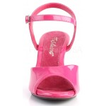 Hot Pink Belle 3 Inch Heel Sandal at ShoeOodles Shoes for Women, Men and Children,  Oodles of Shoes for Men, Women & Children