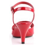 Red Belle 3 Inch Heel Sandal