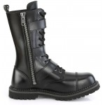 Riot 12 Mens Steel Toe Leather Combat Boots