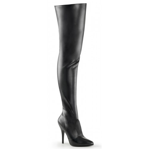 Pretty Woman Seduce Black Thigh High Boots at ShoeOodles Shoes for Women, Men and Children,  Oodles of Shoes for Men, Women & Children