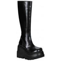 Shaker Platform Knee High Womens Boot