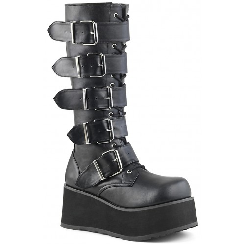 Trashville Buckled Up Unisex Knee Boot