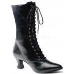 Black Victorian Ankle Boot at ShoeOodles Shoes for Women, Men and Children,  Oodles of Shoes for Men, Women & Children