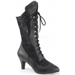 Divine Wide Width Black Victorian Platform Boot ShoeOodles Shoes for Women, Men and Children  Oodles of Shoes for Men, Women & Children