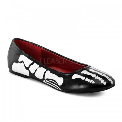 X-Ray Skeleton Ballet Flats at ShoeOodles Shoes for Women, Men and Children,  Oodles of Shoes for Men, Women & Children